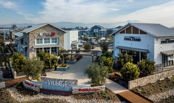 The Village at Tustin Legacy Aerial View