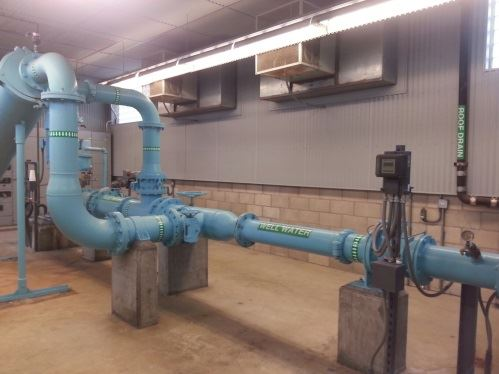 Water pressure pipes